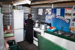 Present kitchen